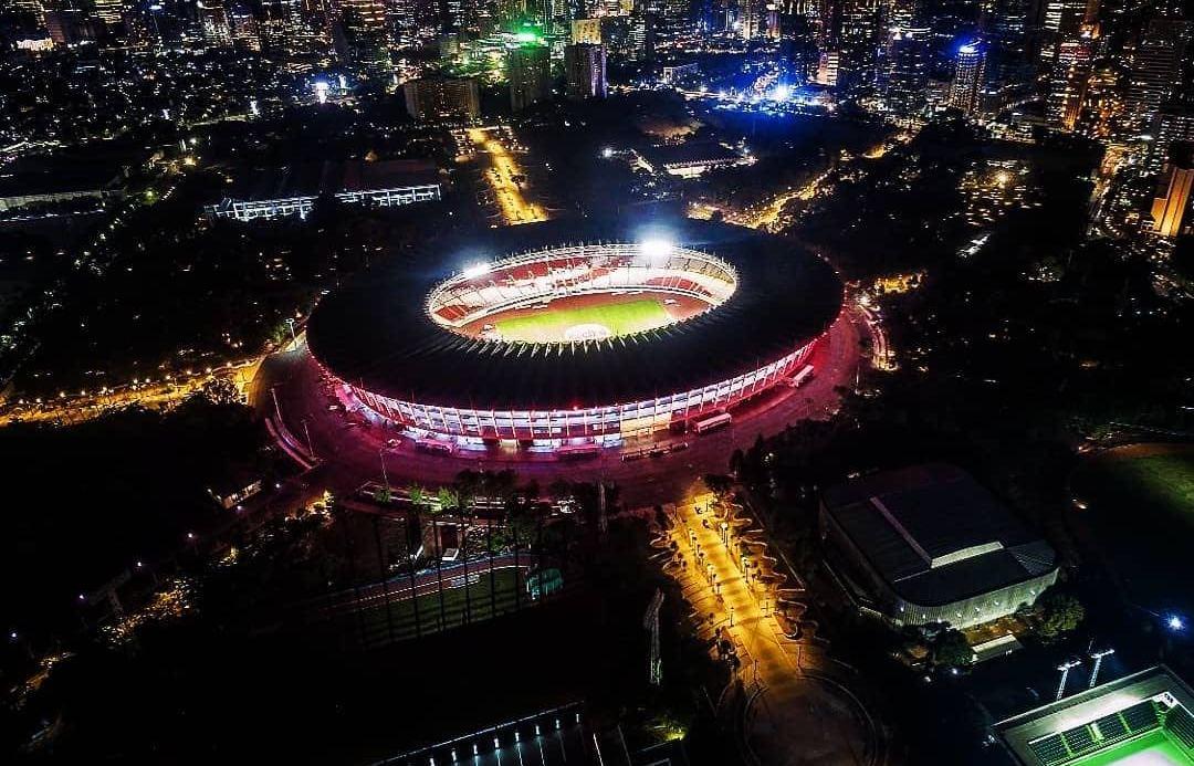 Stadion Gelora Bung Karno Malam Hari
