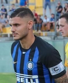 Mauro Icardi di Inter Milan
